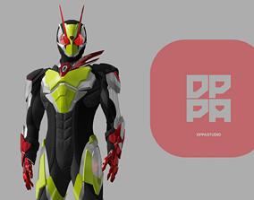 Kamen Rider Zero Two Printable