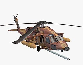 UH-60 Blackhawk IDFAF 3D model