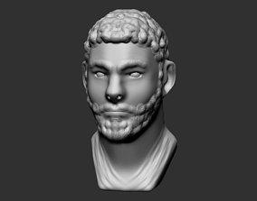 Roman Bust 3D print model