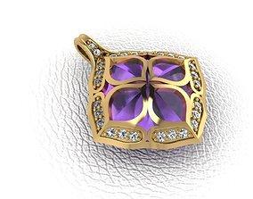 3D print model Pendant-gold