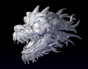 3D printable model Dragon head jewel
