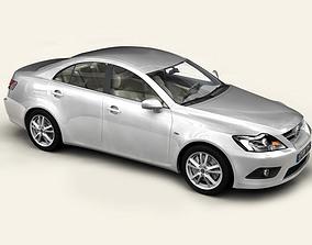 3D Generic Car Middle Class