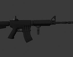 AssaultRifle 3D asset