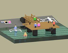 harbour 3D printable model