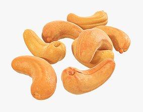 Nuts cashew 3D model