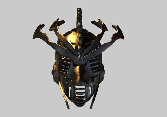 Cyberpunk Helmet