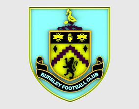 3D Burnley Logo