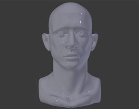 Male Head Printable