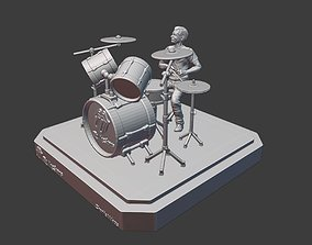 THE ROLLING STONES CHARLIE WATTS - 3DPRINTING