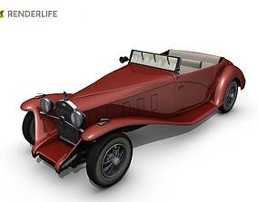 3D model Car Roadster 2