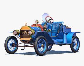speedster 3D Ford Model T Speedster 1915