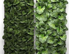 3D Vertical gardening landscape