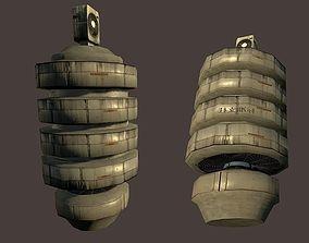 Cyberpunk Vent Pillar 3D model