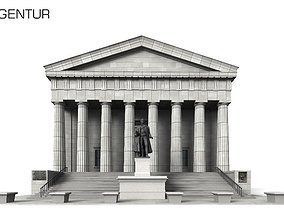 Federal Hall New York - 3D Building Models