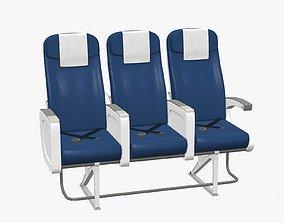 Airplane Chair V6 3D model
