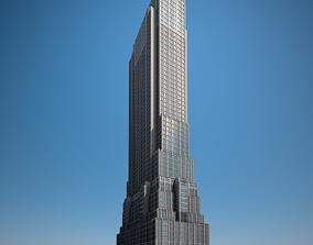 Skyscraper 03 architecture 3D model