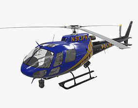 AS-350 Miami City Police 3D model