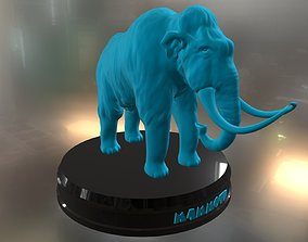 toy Mammoth 3D printable model