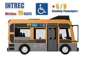 3D model Minibus 16 - 20 seater