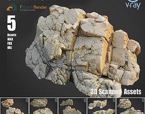 Cliff pack E bundle 3D model