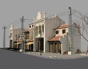 Hoi An Viet Nam street 3D model