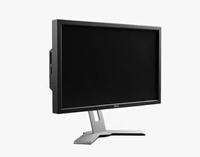 Monitor Dell 2408wfp 3D model