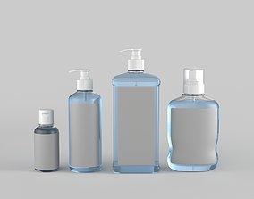 Sanitizer Bottle 3D model medicine