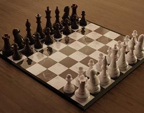 3D print model 3D asset Chess set
