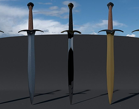 3D Collection of Swords