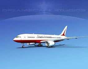 Boeing 787-8 Royal Air 3D model