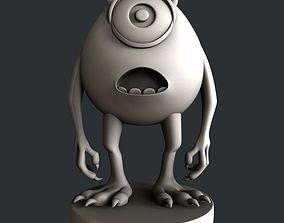 3d STL models for 3d printer animatiob statue