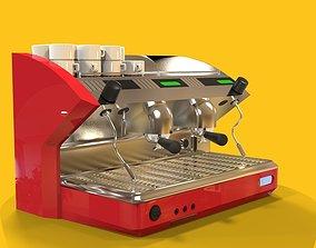 3D asset Coffee maker