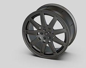 3D model rims A style