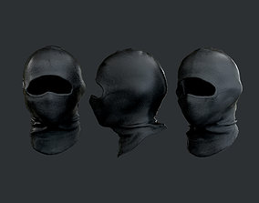 Military Police SWAT Equipment Mask Game Ready 3D asset