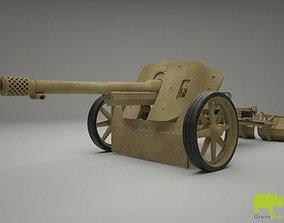 75mm Pak 97-38 3D Model