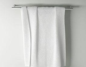 Towel 3D model rack