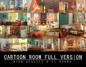 3D Cartoon Room Interior Full Version