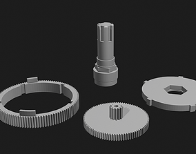 3D printable model Saeco Royal Professional - gearses for