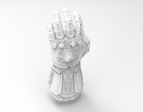Infinity Gauntlet - Thanos - Avengers Infinity War - 3D 1