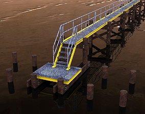 Pier walkway 3D model