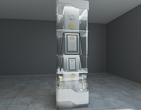 3D model showcase for the exhibition