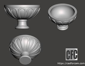 Decorative vase - 3d model for CNC - DecorativeVase002