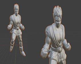 Dragonball Z Character - Great Saiya man 3D print model 1