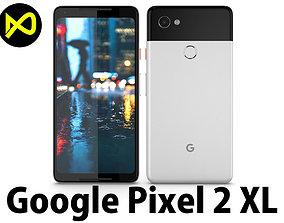 3D model Google Pixel 2 XL White