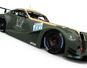 Morgan Aero SuperSports GT3 3D model