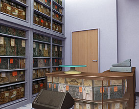 3D model Traditional Chinese Medicine Store