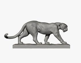 Walking Leopard 3D printable model