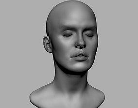 3D print model Base Female Head v4