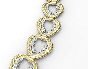 3D print model gucci necklace