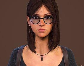 Teenage girl 3D